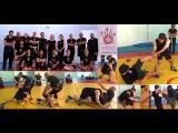 Video 428) Iranian wrestling seminar on Malta, Part 4: Double-leg takedown & single-leg takedown
