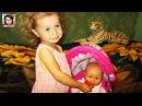 Baby Born Doll Миланка КАК МАМА кормит куклу Беби Бон