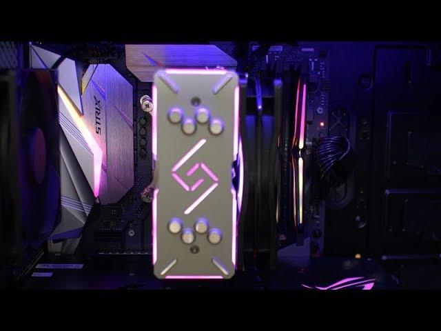 Coffee Lake Z370 Build - ASUS ROG Strix Z370-E Gaming Intel Core i5-8600K