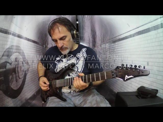 Line 6 Helix - Marshall JCM800 Mod - Manne Guitar mod. Taos