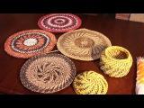 Имитация плетения из корня. Узор