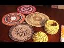 Имитация плетения из корня. Узор колосок . Часть 3.
