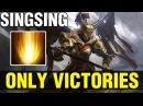 ONLY VICTORIES !! - SINGSING LEGION COMMANDER SUN STRIKES - Dota 2