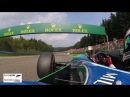 Exclusive Onboard Mick Schumacher's Demo Lap in his father's Benetton F1 operated by RENNWERK