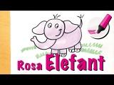 Elefant zeichnen lernen Das gr