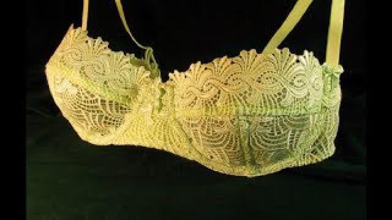 Как сшить кружевной бюстгальтер Анжелика/How to make a lace bra Anjelika