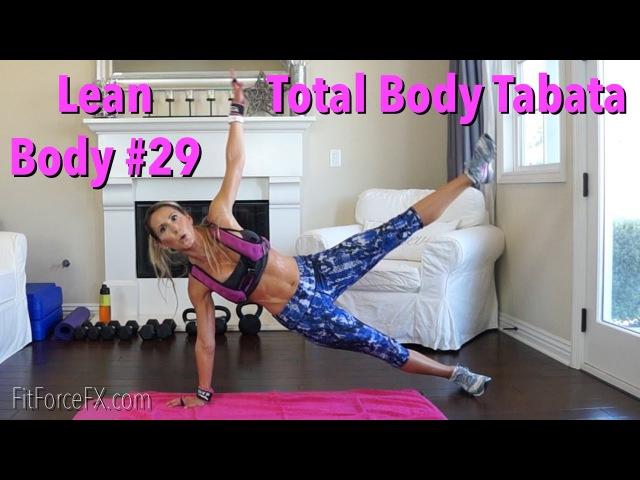Total Body Tabata Lean Body Series Workout No.29 fatburning homeworkout bikinibody hiit