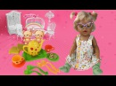 Играем с Беби Бон. Набор для чаепития / Playing with Baby Born. Tableware for dolls