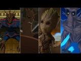 Эволюция Грута в мультфильмах и киноEvolution of Groot in movies and cartoon