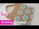 Bolso crochet paso a paso con granny