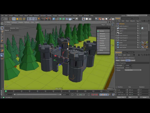 Tutorial: Create a Dynamic Catapult Animation in Cinema 4D: Part 4