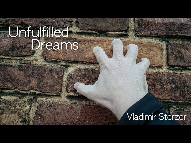 Unfulfilled dreams - Epilogue of a certain time. Vladimir Sterzer