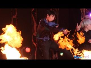 171101 방탄소년단 '불타오르네' 정국 직캠 BTS Jungkook Rehearsal fancam (광화문 평창올림픽 G-100) by Spinel