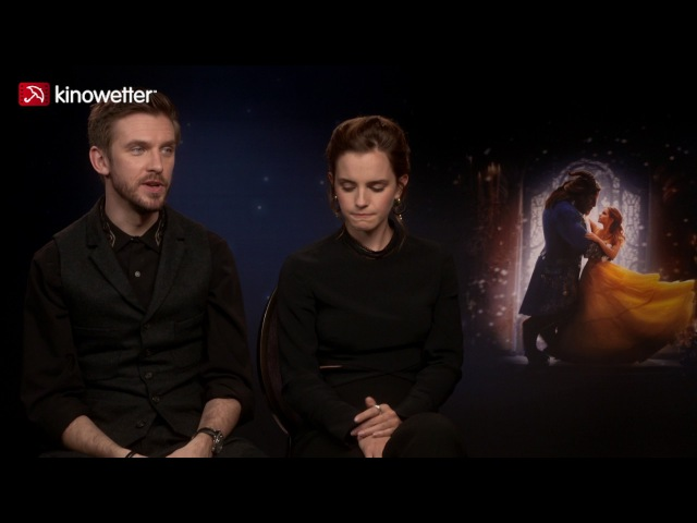 Interview Dan Stevens Emma Watson BEAUTY AND THE BEAST