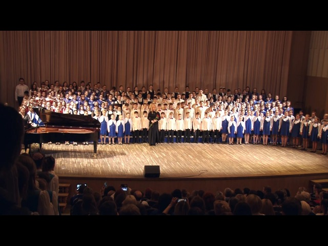 Концерт хоровых коллективов Красноярска 20.03.2016г.