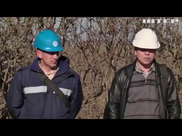 Репортаж о пикете работниками ОПЗ газораспределительной станции в Визирке