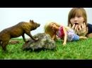 Видео для девочек с Барби приключение у озера! Видео про куклы на канале TubeGirls
