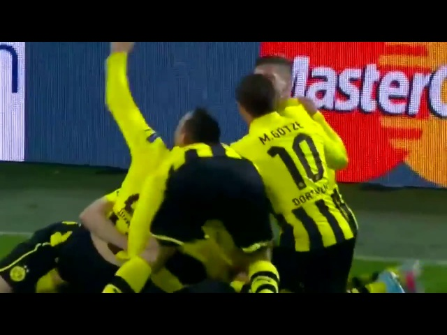 Borussia Dortmund vs Malaga CF 3-2 Highlights (UCL) 2012-13 HD 720p