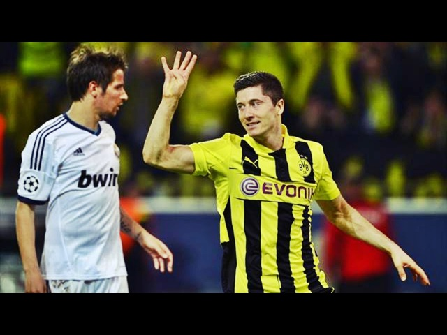 Боруссия Дортмунд 4-1 Реал Мадрид - Полуфинал Лиги Чемпионов 2012/13 HD