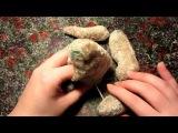 Шьем мишку тедди из плюша. Урок 6. Сборка игрушки