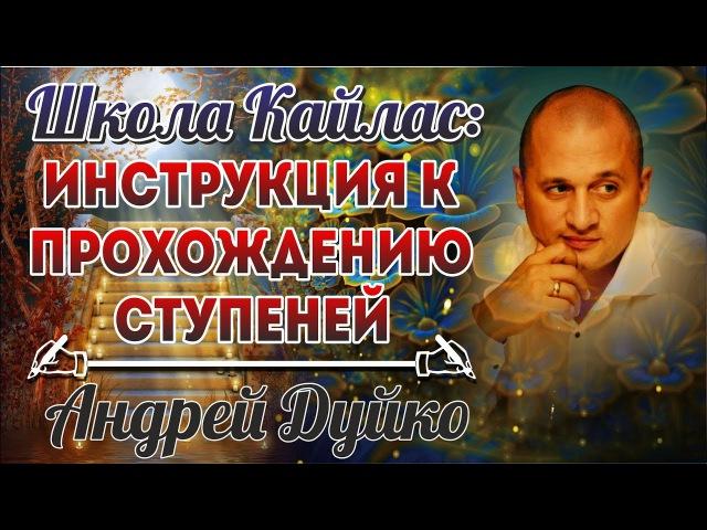 Инструкция к прохождению ступеней школы Кайлас. Андрей Дуйко видео » Freewka.com - Смотреть онлайн в хорощем качестве