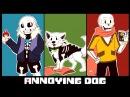Андертейл Undertale Надоедливая собака комикс