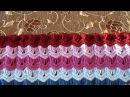 Вязание крючком Афганский плед- 1отчет