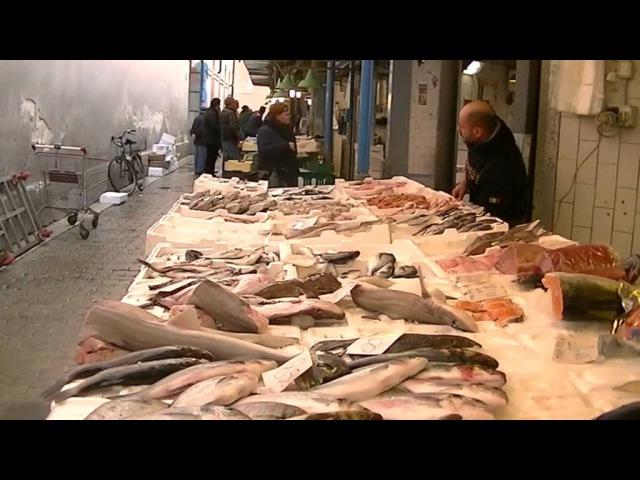 Очередная пробежка по базару в г Бари южная Италия