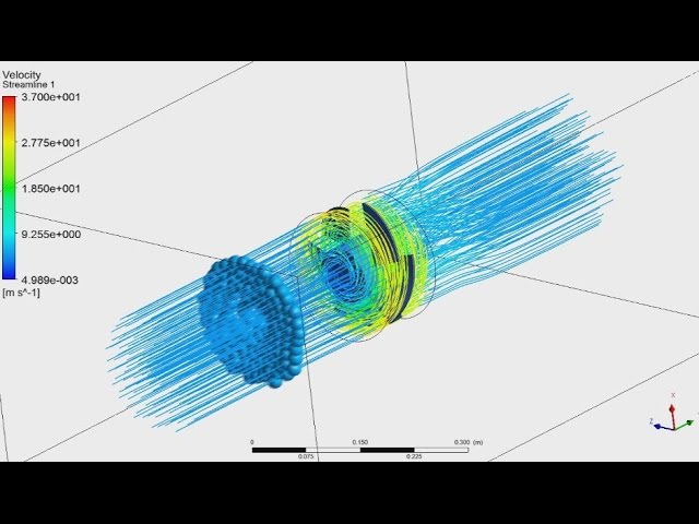 Tutorial ANSYS CFX Part - 22 | Analysis of propeller, calculation thrust and power
