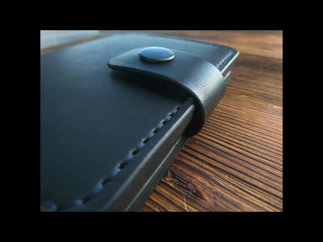 2в1 Кошелек обложка для паспорта Leather hand made