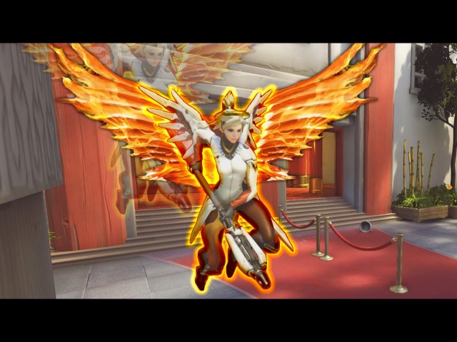 1206 Hours Of Mercy Babysitting!! - Overwatch Saves Montage
