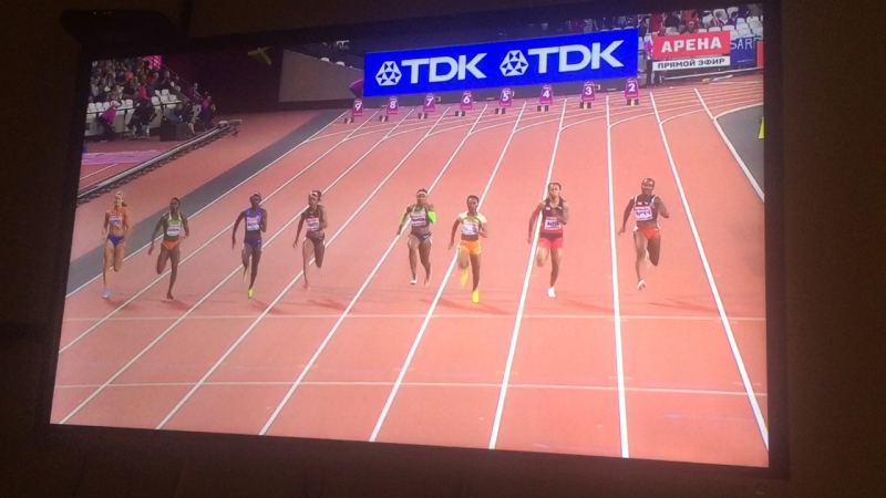 100-метровка женщины ЧМ Финал