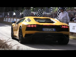 2017 Goodwood Festival of Speed Supercar MADNESS! - Centenario, Chiron, Ford GT, Zonda 760 _ More!
