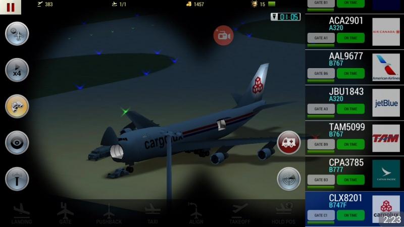 Загрузка Boeing 747 люксембургской Cargolux.UATC