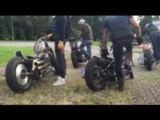 Harley-Davidson KickStarts.