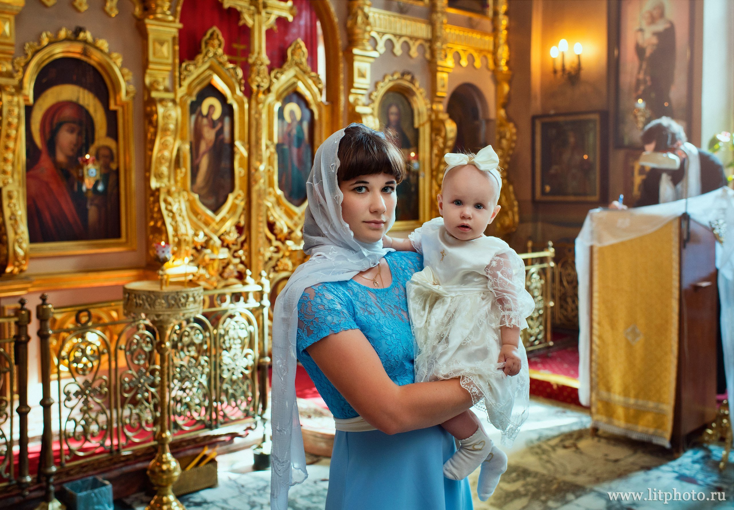 фотосессия крестин москва