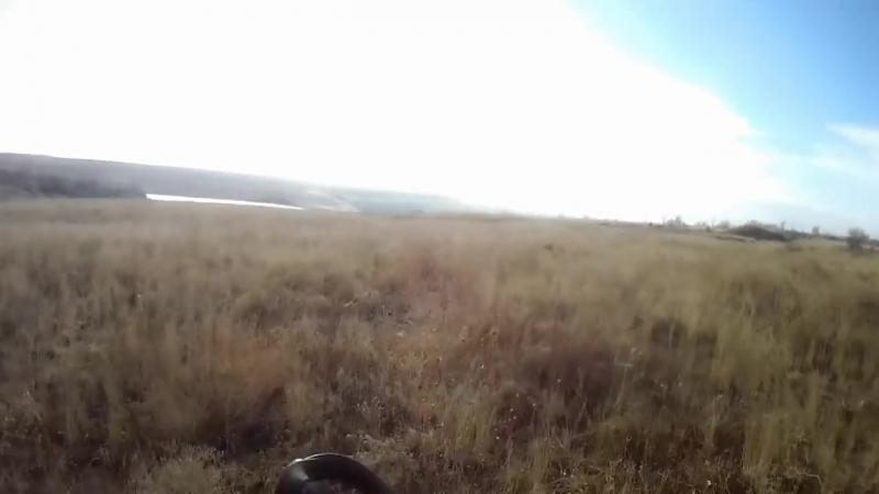 Охота на зайца 2015! Прикольный момент