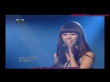 Hyorin (Sistar) - That person of that time (Immostal song 2) LIVE Sub Espa