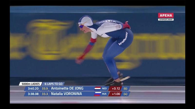 Наталья Воронина 7.02.41 6 место