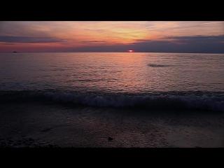 Закат на пляже Ривьера г.Сочи