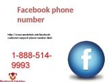 Remove agony from Facebook phone number 1-888-514-9993