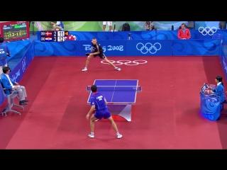 Олимпийский настольный теннис