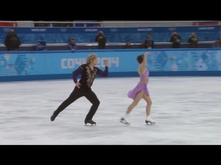 Мэрил Дэвис и Чарли Уайт, Сочи-2014