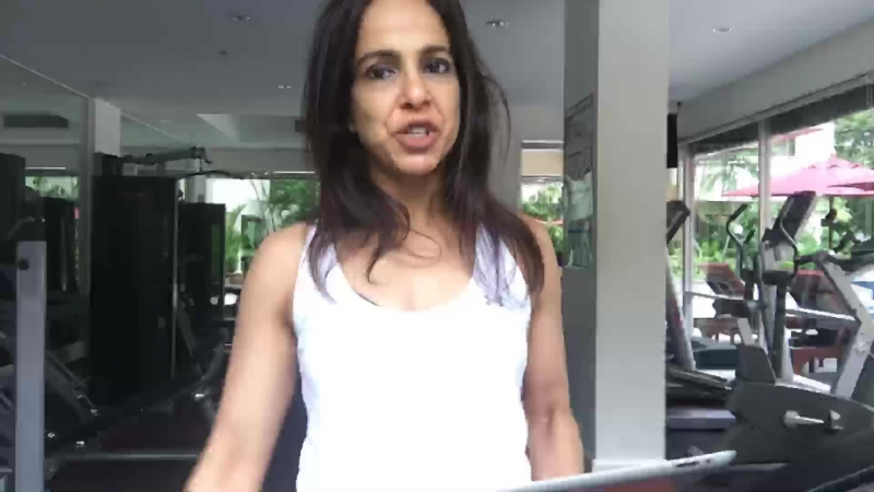 Need to burn fat fast? Let's HiiT it! | Veena LIVE on FIT.live from Bangkok, Thailand