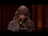 Taylor Swift - New Year's Day (Live on The Tonight Show starring Jimmy Fallon)
