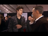 Shawn Mendes talking with Good Morning America , AMAs, Nov 19, 2017