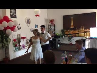Денис и Снежанна. Свадебный танец. Клиенты танцевальной студии