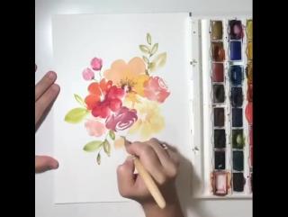 Талантливая художница