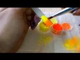 Дизайн ногтей✦Градиент (омбре) с пигментами✦Ksana Groza. Nail Art Blog