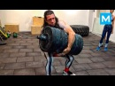 CRAZY RUSSIAN Workout Monster - Alexander Khokhlov Muscle Madness